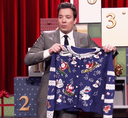 Jimmy Fallon Christmas Sweaters.12 Days Of Christmas Sweaters On Jimmy Fallon The